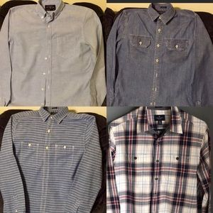 <American Eagle> Button Front Shirt Bundle